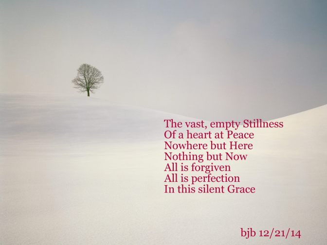 Quietude Poem