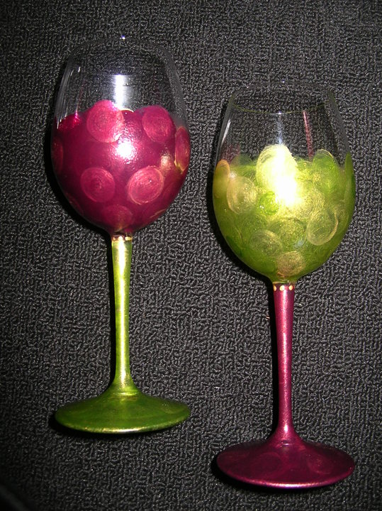 grape wine glasses