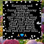 Blessings and Sorrows