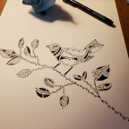 Weaving Ink